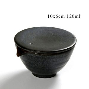 Gaiwan with spout and lid