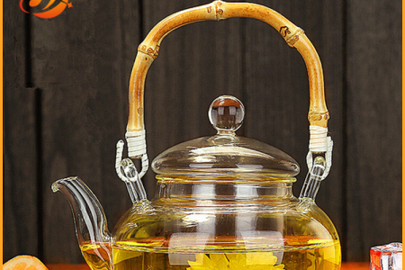 600ml glass Tea pot
